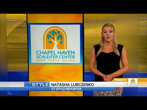 WTNH News Channel 8 - CT Style w/ Chapel Haven Schleifer Center