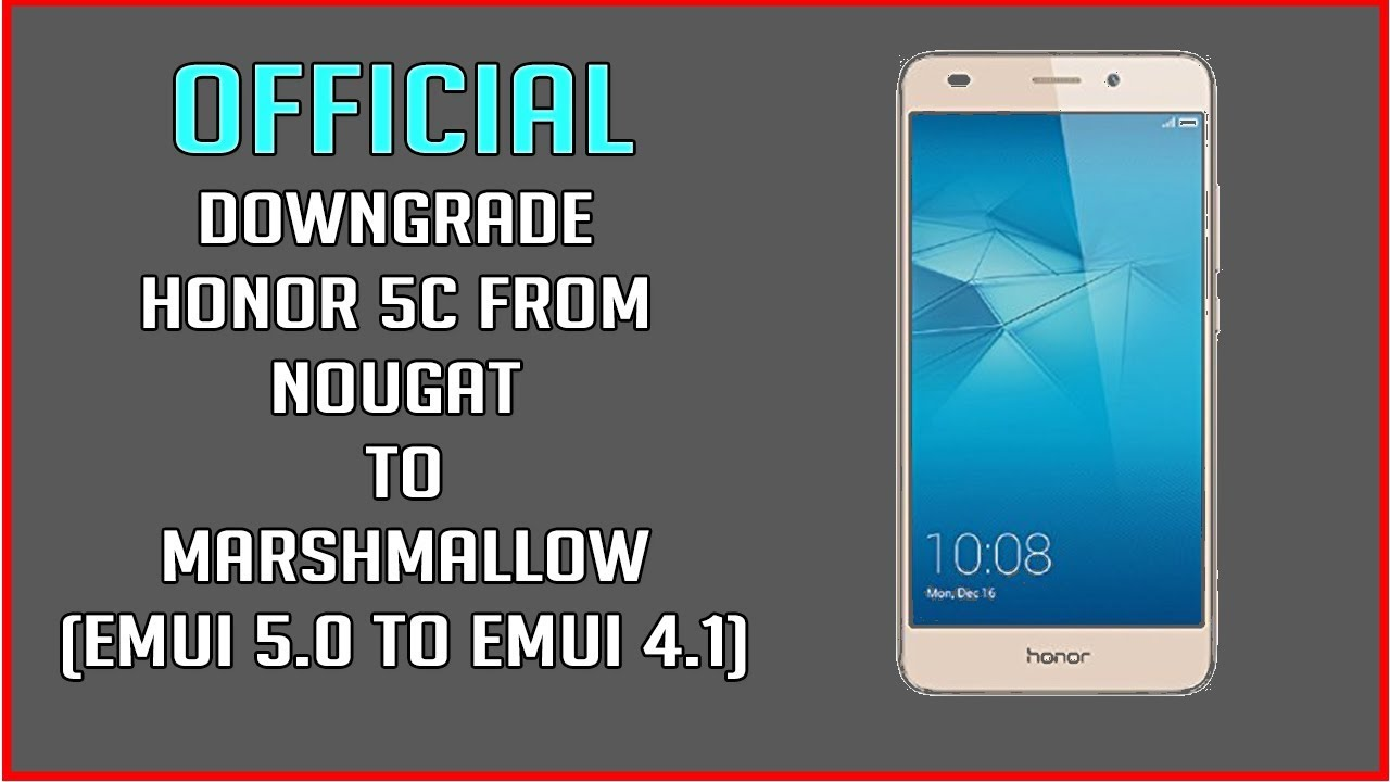 Huawei Honor 5c Firmware Videos - Waoweo