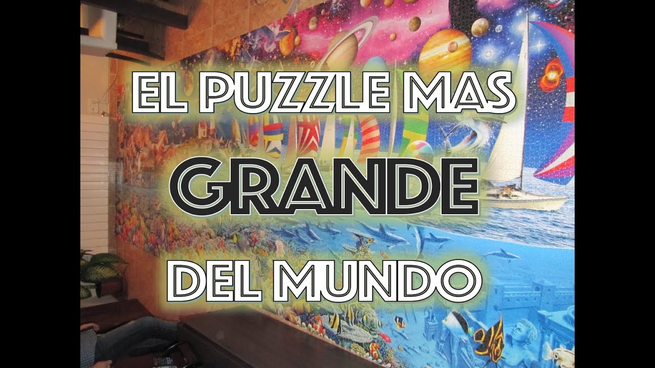 El puzzle mas grande del mundo escondite de rachel youtube for El mundo del mueble catalogo