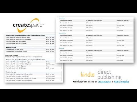 Katie Salidas: What you need to know about the CreateSpace and KDP