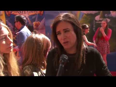 "Tinker Bell and The Pirate Fairy: Pamela Adlon - Voice of ""Vidia"" Premiere Interview"