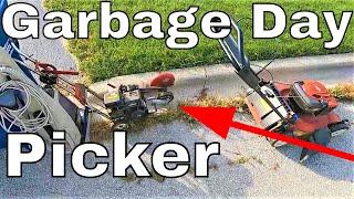 Does Trash Picking Make Sense?