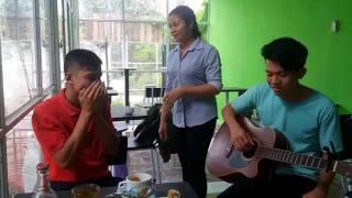Gánh hàng rau (Hà Anh Tuấn) cover by Hiền hena, beatbox An An, guitar Trương Huỳnh