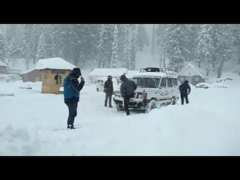 #Fresh Snowfall in Kashmir Valley, #Cold Wave in Jammu #Channel1india