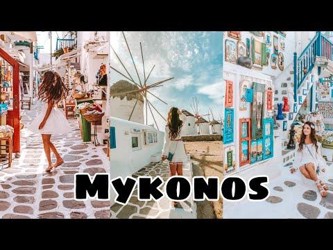7 DAYS IN MYKONOS | VLOG | MYKONOS GREECE