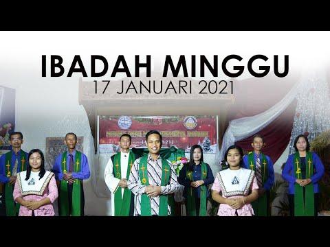 Ibadah Minggu 17 Januari 2021 Untuk Umum