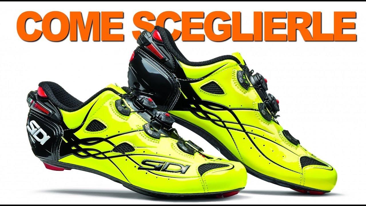 check out ef6ab 25e8c Come Scegliere le Scarpe da Ciclismo