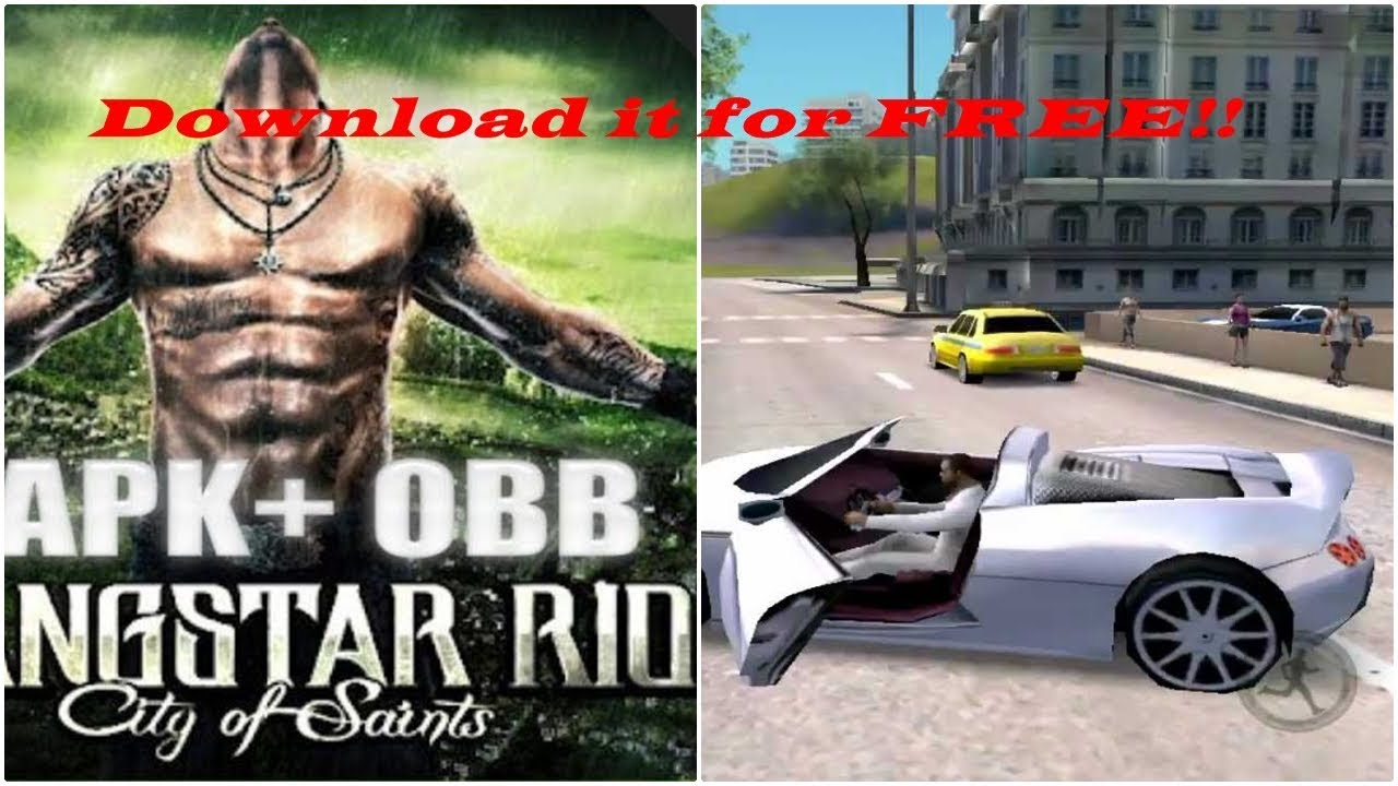 Gangstar Rio City of Saints Android Apk and OBB 100% Working