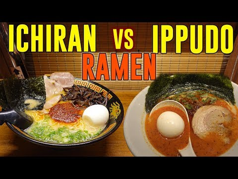 ICHIRAN vs. IPPUDO Ramen: BEST Japanese Ramen Chain