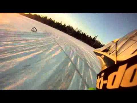 moto sur glace valdor  Marcel Fournier, Stephane tibas Dupuis, Dany Dionne cam066.wmv