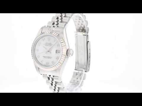 ROLEX Pre Owned Watch Datejust Ref 79174