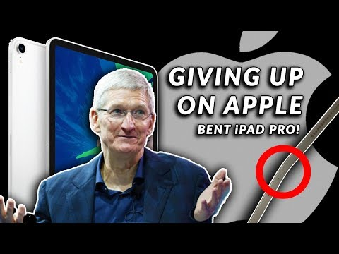 APPLE is DESTROYING Itself & Fans Are GIVING UP – Fix the Bent iPad Pro, Tim Cook!