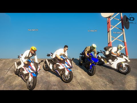 GTA 5 Roleplay #40 - Phượt Lên Đỉnh Núi Cao Nhất Cùng Dàn Xe Moto Mới