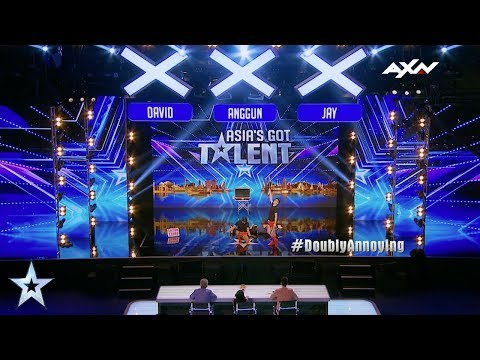 The Annoying Brothers Judges' Audition Epi 5 Highlights | Asia's Got Talent 2017