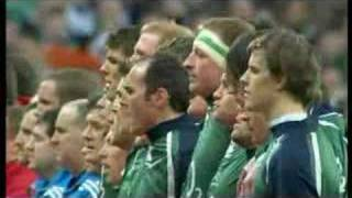 The Anthems from Ireland vs England at Croke Park