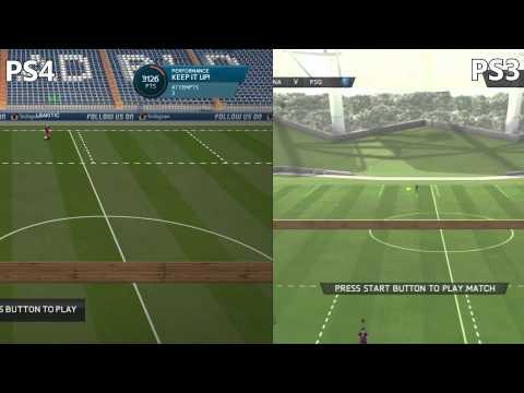 FIFA 16 PS3 Vs PS4 Gameplay Graphics Comparison!   FIFA 16 (demo) NEXT GEN Vs OLD GEN