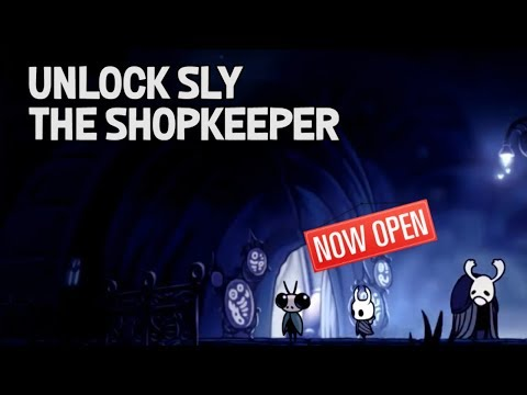 Hollow Knight- How to Unlock Sly the Shopkeeper for a Small Key and Lumafly Lantern