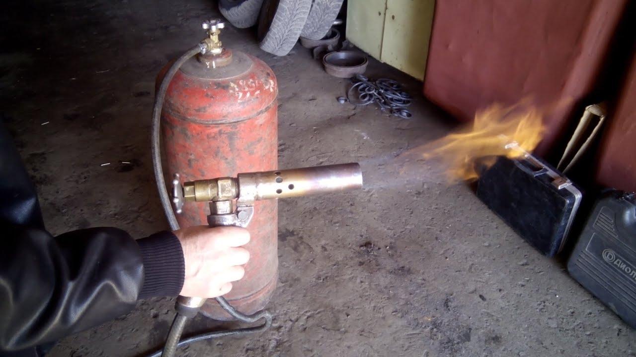 своими руками газовая паяльная лампа