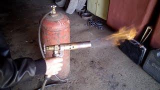Самодельная газовая горелка.
