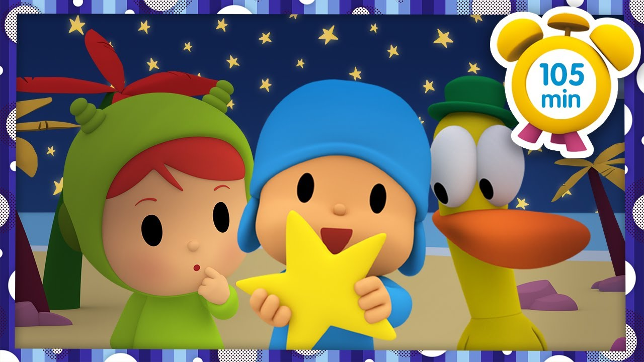 🌠 POCOYO in ENGLISH - Summer Nights [ 105 minutes ] | Full Episodes | VIDEOS and CARTOONS for KIDS