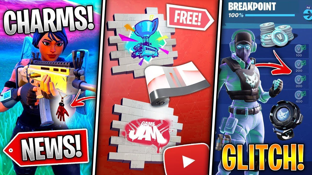 Free Youtube Rewards, S10 Weapon Charms, Bundle VBucks Glitch, Leaked Storm  Sniper! - Fortnite News