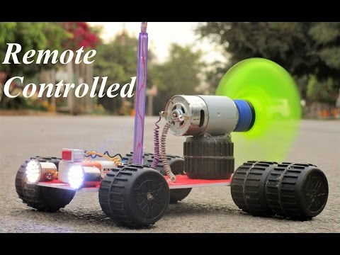 Thumbnail: How To Make a Remote Control Car - Very Simple