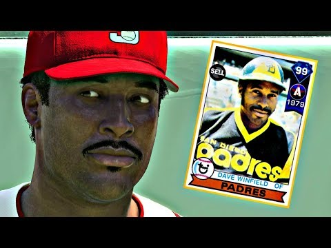 99 DAVE WINFIELD DEBUT!! MLB THE SHOW 17 DIAMOND DYNASTY
