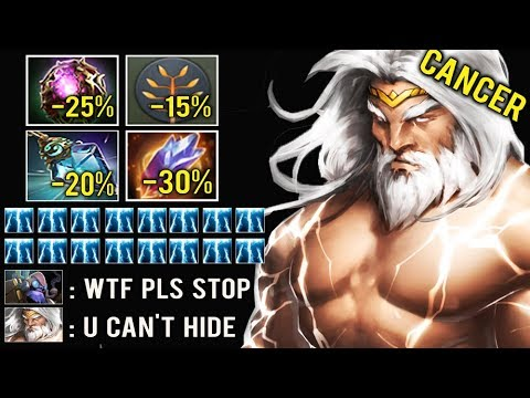 -70% CD ALL SKILL Non-Stop Nimbus Refresher Spam Crazy 190k Damage 7.23 Zeus Delete Tinker Dota 2