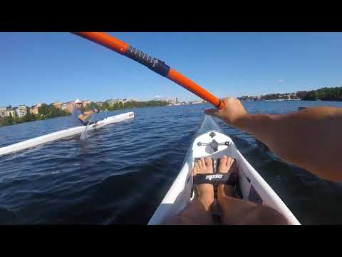 Sweden 2017 - Stockholm City Tour by Surfski