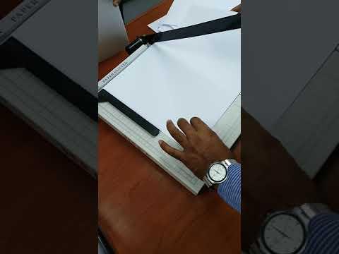 Paper cutter machine..khosaboss channel