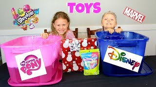 Surprise Toys - BUBBLES Game! Shopkins, My Little Pony, Disney Toys, Blind Bags and More!