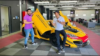 RACING SUPERCARS at Dubai Autodrome🔥 | Karan lost 🤣🤣