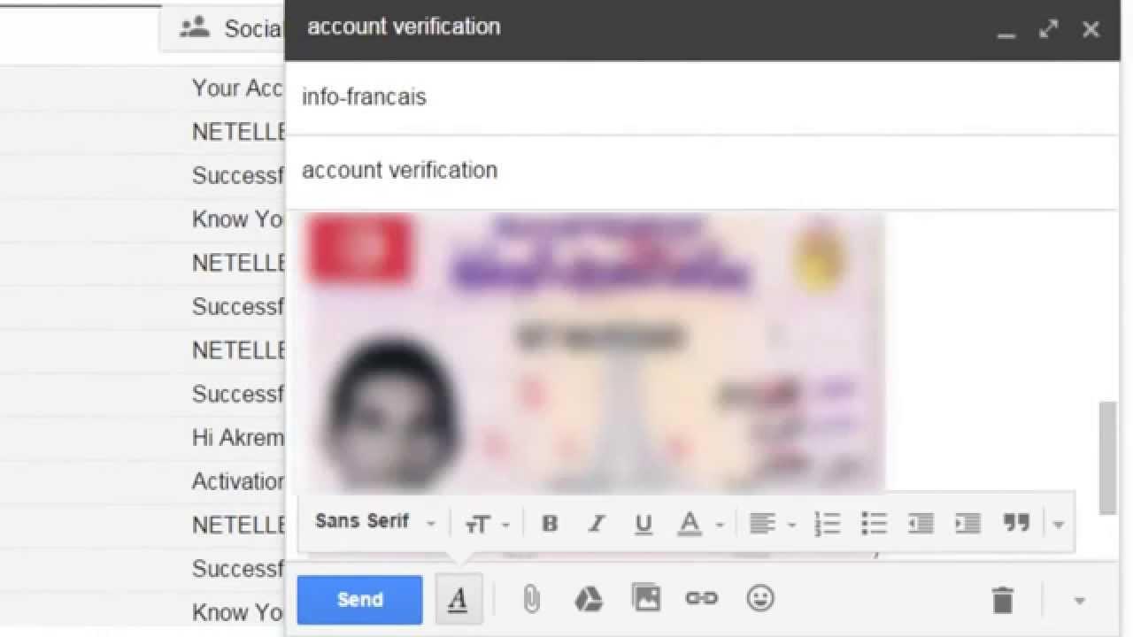 Verification Compte PlanetWin365 Tunisie