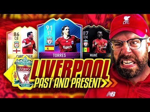PAST AND PRESENT LIVERPOOL!!! THE TIKI TAKA SQUAD!!!! - FIFA 17 Ultimate Team
