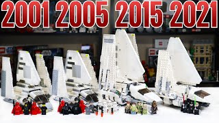 LEGO Star Wars IMPERIAL SHUTTLE Comparison! (7166, 7264, 75094, 75302 | 2001, 2005, 2015, 2021)