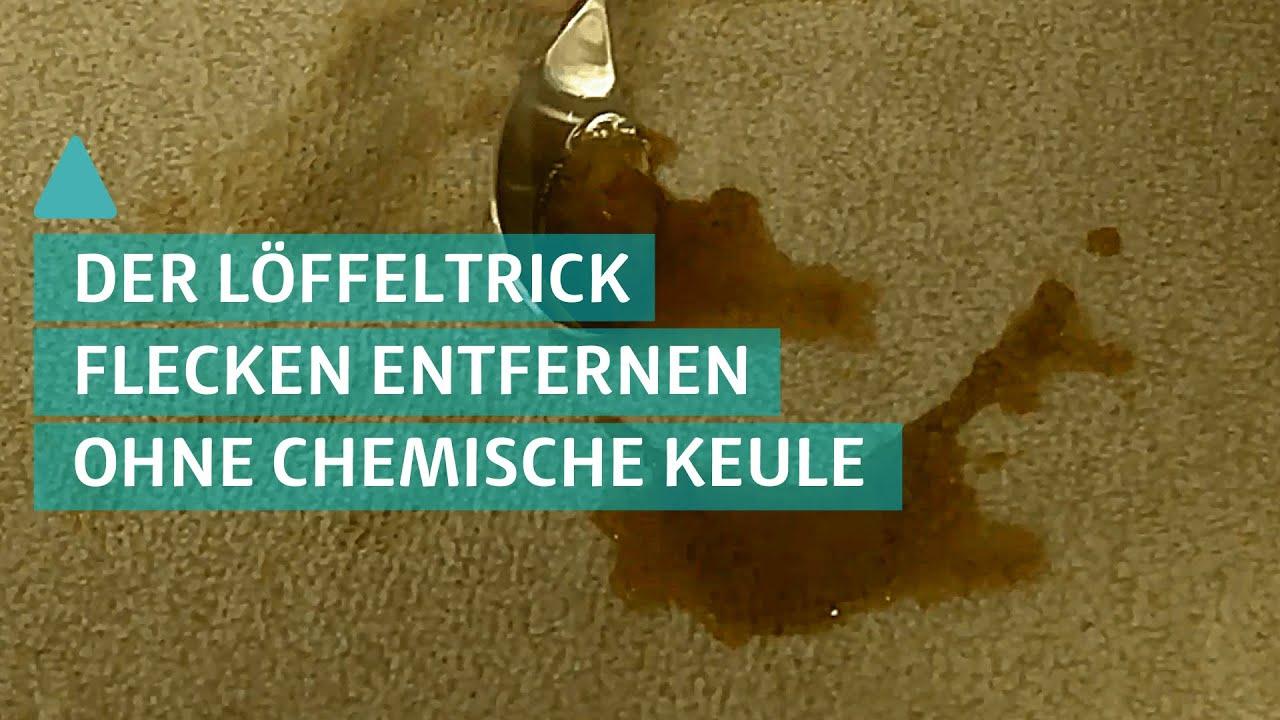 Diy Tipp Flecken Vom Teppich Oder Der Couch Ohne Chemie Entfernen