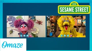 Join Big Bird & Abby Cadabby for a Virtual Playdate | Omaze