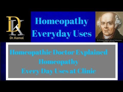 homeopathy everyday uses-alternative medicine-homeopathy medicine explained