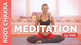 Grounding Root Chakra Guided Meditation - Stress Relief Meditation | Chakra Challenge