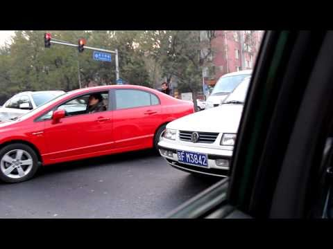 China 2010 - Traffic jam in Beijing - but not for long