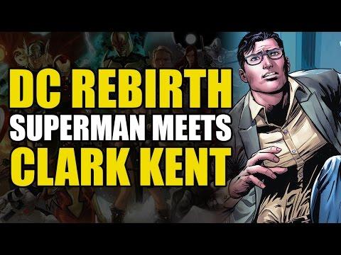Superman Meets Clark Kent (DC Rebirth Action Comics Vol 2: Who is Clark Kent?)