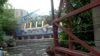 Paseo por el Parque Jurasico - Universal Studios JAPON