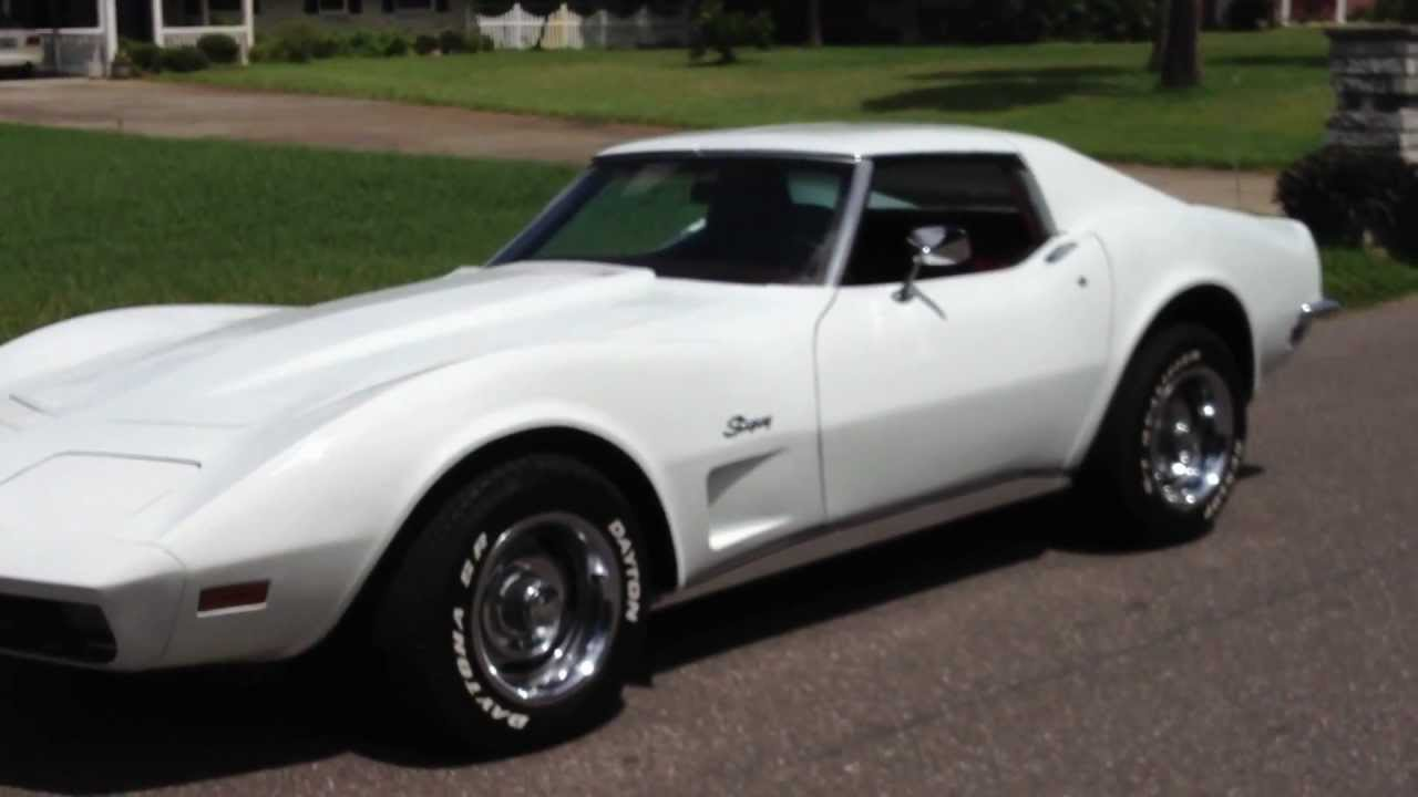 Picture of 1973 chevrolet corvette coupe exterior - Stunning Classic 1973 Corvette Stingray T Top 350 V8 For Sale In Tampa Florida 22900 Youtube