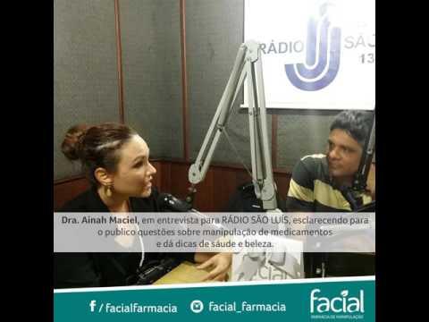 Dra.Ainah Maciel, em entrevista para Rádio São Luís
