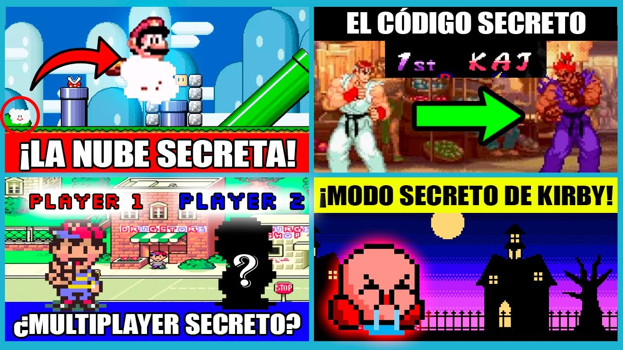 8 SECRETOS de JUEGOS del Super Nintendo que TOMARON AÑOS en SER DESCUBIERTOS - @ÑoñoParty | N Deluxe