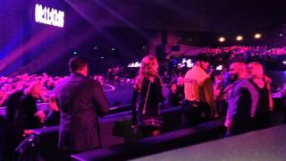 Paris Hilton and Nicky Hilton at Britney Spears Las Vegas Show - 12/30/2013