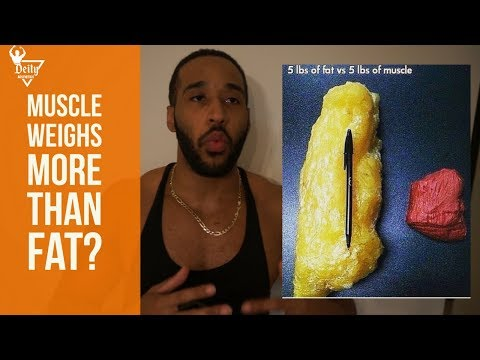 Does Muscle Weigh More Than Fat? | Muscle Weight Vs Fat Weight