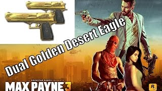 Max Payne 3 - Dual Desert Eagle Multiplayer PC Gameplay