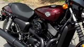 2015 Harley Davidson Street 750 for sale Charlotte NC red (704) 847-4647