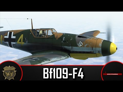 The ups and the downs - IL2: Battle of Stalingrad w/Feraphic - BF109-F4